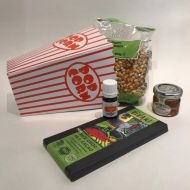 Movie Night Orange Honey Popcorn & Vegan Chocolate Gift Set