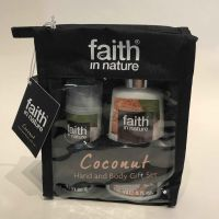Coconut Hand & Body Gift Set by Faith in Nature